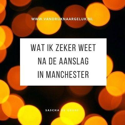 aanslag in Manchester