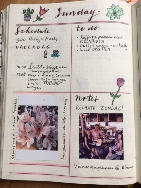 Bullet journal daily
