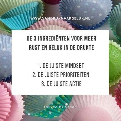 De 3 ingrediënten voor meer ruste en geluk in de drukte