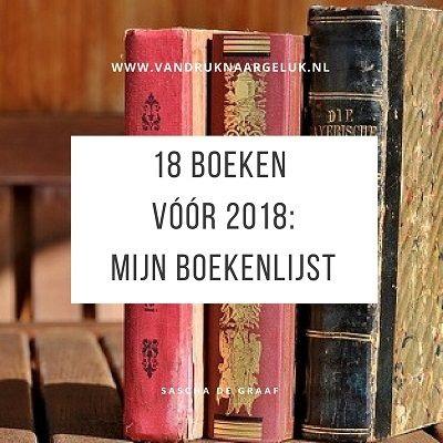 Mijn boekenlijst en uitdaging: 18 voor 2018
