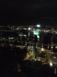 Dansen op de 20ste verdieping in M'Adam, met een schitterend uitzicht over Amsterdam