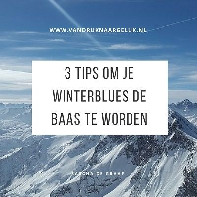 3 tips om je winterblues de baas te worden