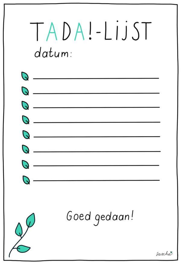 Tada-lijst