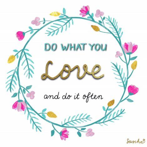 Do what you love - Van druk naar geluk
