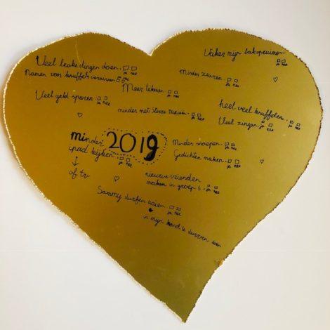 Lenthe gouden hart doelen - van druk naar geluk